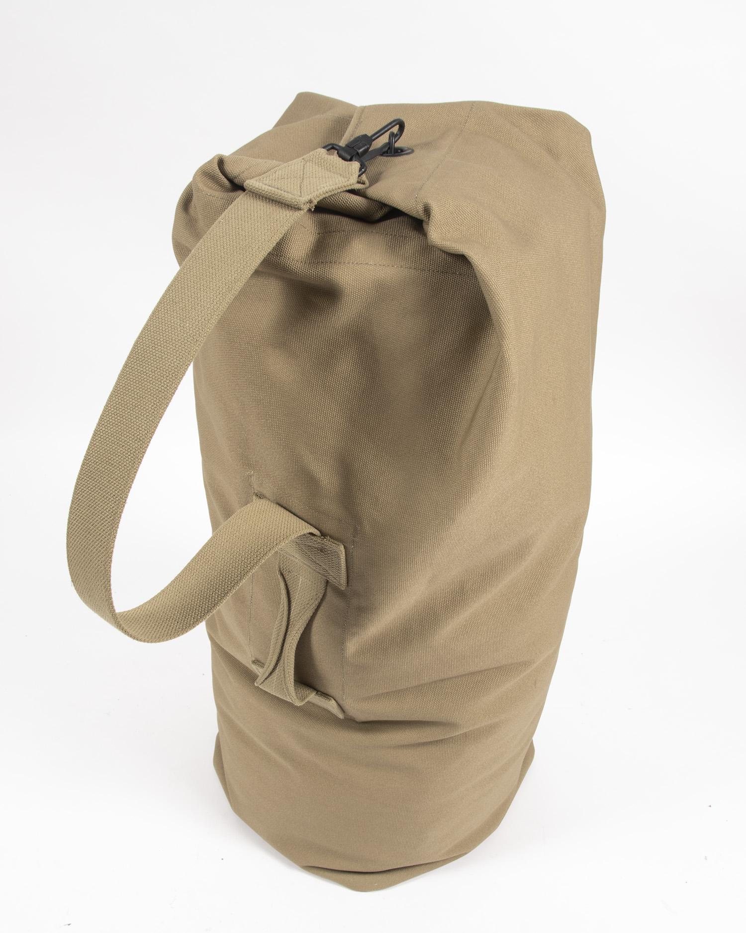 Army Issued Canvas Duffle Bag World War II