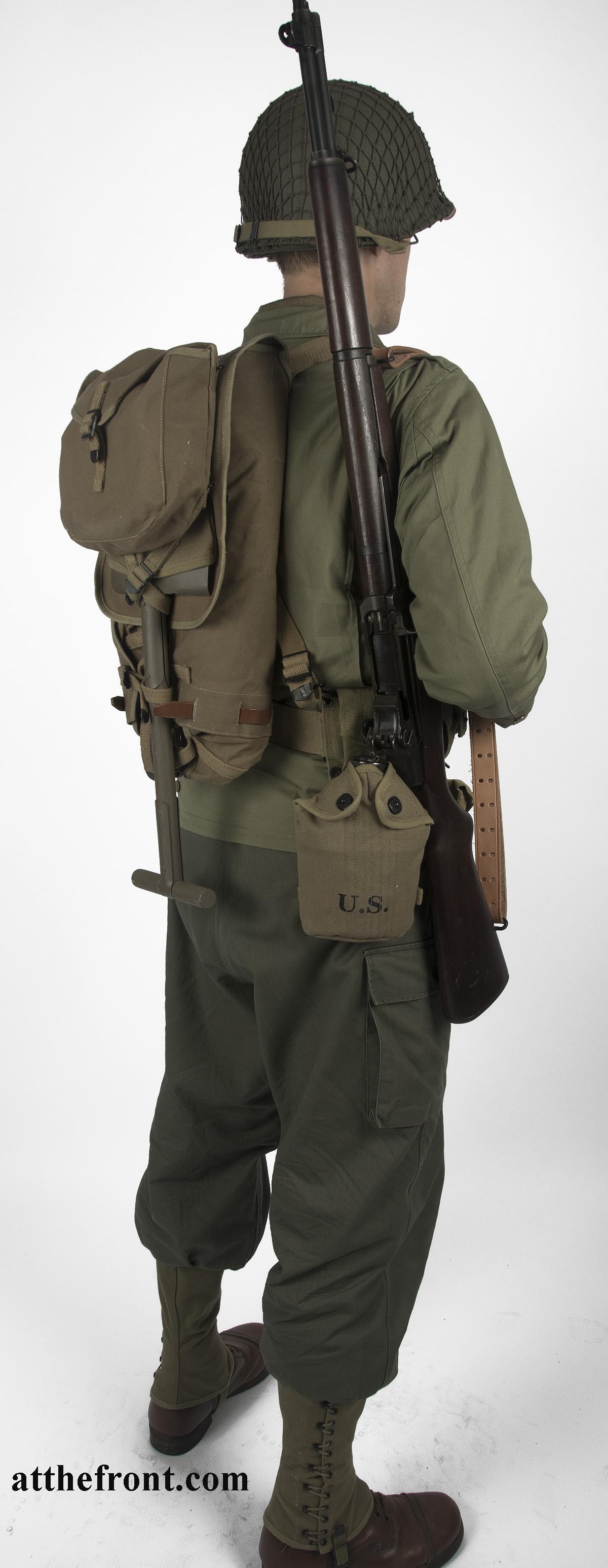U S  WWII Army Infantryman Package