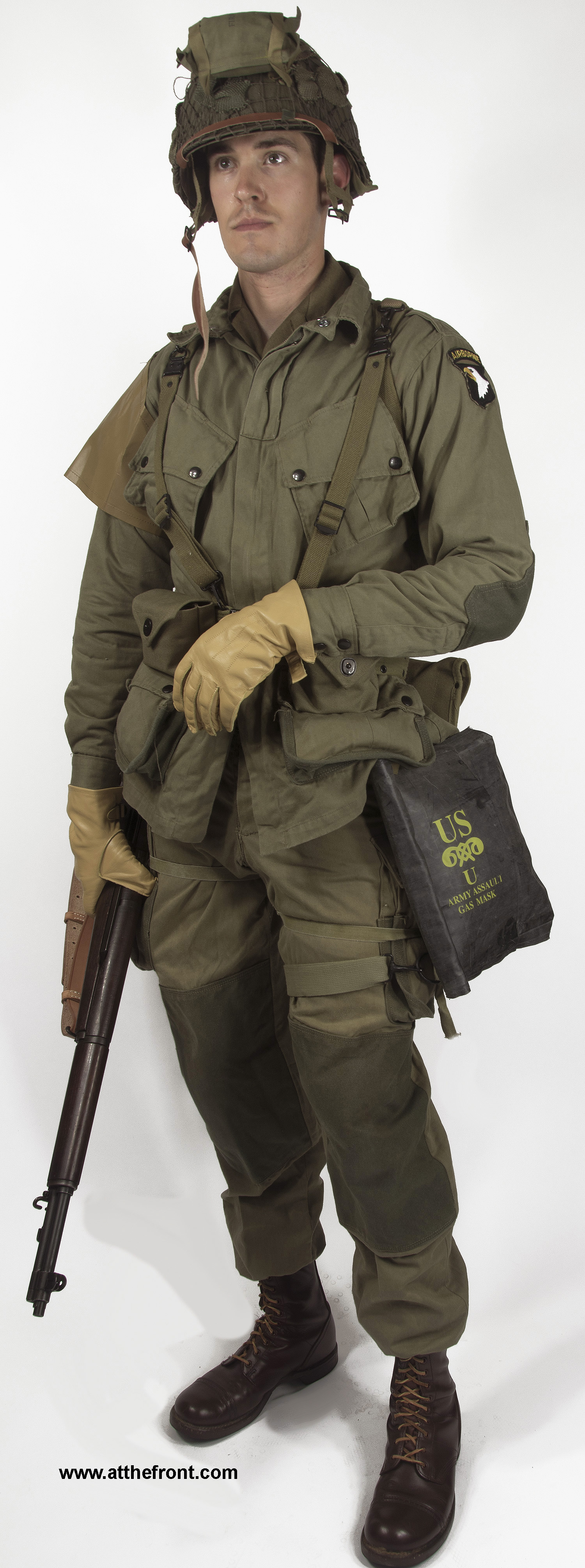Wwii Normandy Paratrooper Package Atf